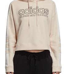 Adidas cropped hoodica dugih rukava