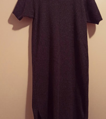 Talijanska duga vunena haljina vel 40
