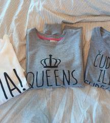 Lot majice sa natpisom