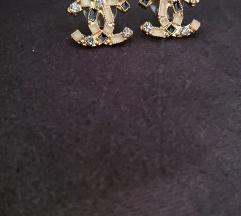 Chanel nausnice i ogrlica