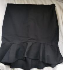Zara suknja sa širokim volanom