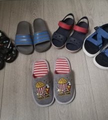 Lot ljetne obuće za dečka