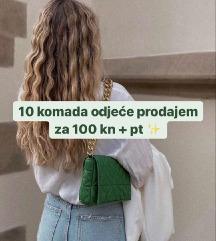 LOT odjeće 10 kom S/M