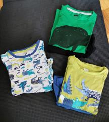 Lot kratkih pidžama za dečke