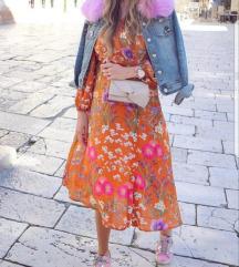 Nova s etiketom MANGO cvjetna haljina (S,M,L) 🌸