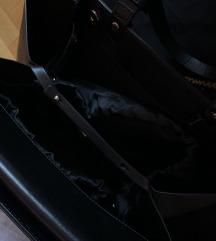 Massimo Dutti KOZNA S ETIKETOM torba