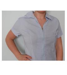 Plava košulja kratki rukav veličina S