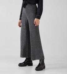 Bershka culotte hlače s etiketom