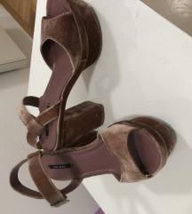 ZARA roze sandale