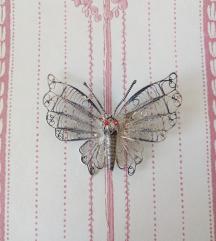 Vintage broš leptir