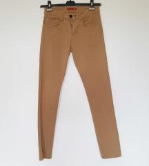 Zara camel muške hlače