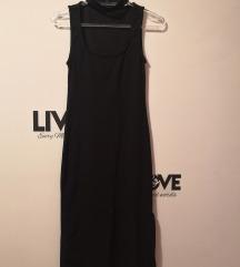 Bershka crna haljina, vel S