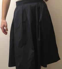 Tamnoplava suknja