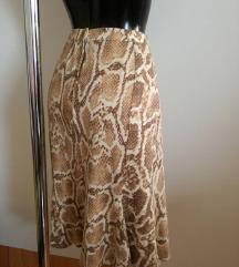 NOVA snake zimska suknja S/M sada 85kn %%%