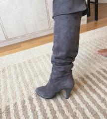 Čizme Rossi kožne vel 37