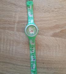 Dječji zeleni gumeni sat