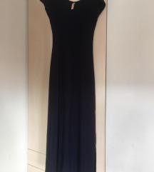 Duga ljetna haljina s prorezom