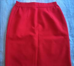 Poklanjam crvenu elegantnu suknju