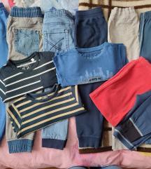 Dječje trenirke, majice za dečke, vel 104/110