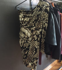 Original Roberto Cavalli snake print haljina