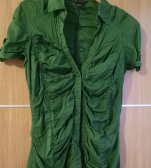 Zelena Mango košulja