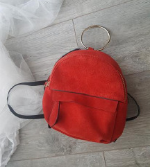 Zarin mini ruksak od brušene kože