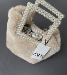 Zara torba s ručkama od perli