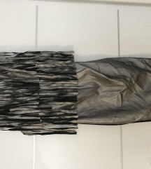 Metalik haljina