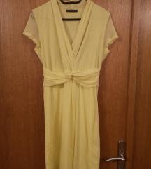 Esprit žuta haljina M L- RASPRODAJA!