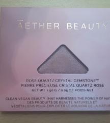 Aether Rose Quartz Crystal Eyeshadow