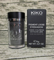 Kiko Pigment Loose Eyeshadow 09 Sparkling Black