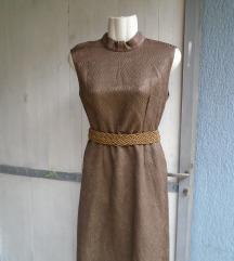 Vintage maxi haljina