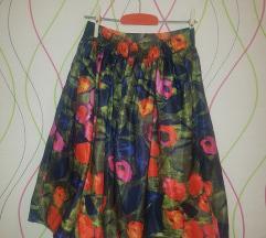 Floral suknja