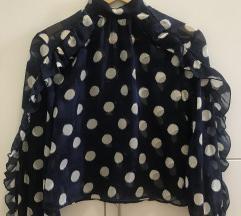 Zara bluza s točkicama (poštarina uključena)