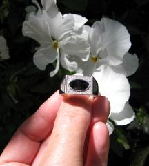 Srebrni prsten 925, 20 mm.
