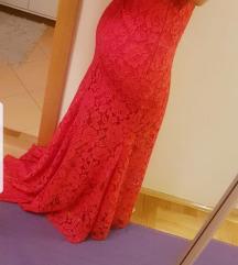 Linea čipkasta haljina
