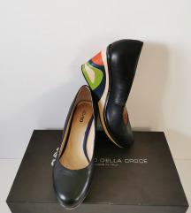XO&XO teemix original kožne crne cipele br.38