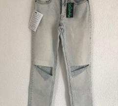 Novi jeans visok struk