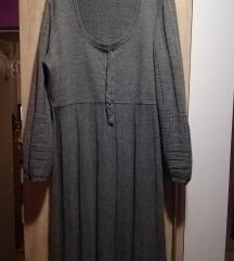 NOVA Siva haljina 48/50