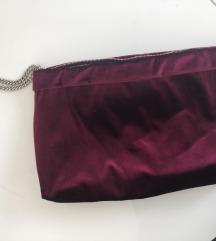 Zara Velvet torbica