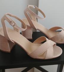 Asos cipele sandale blok peta