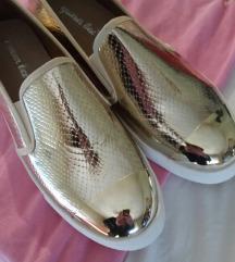 Zlatne Espadrile like Zara br.