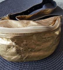 Kozna zlatna torbica