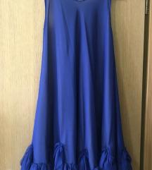 Plava LeiLou haljina s remenom