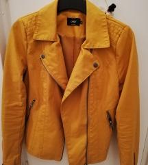 Kožna jakna, žuta (sky)