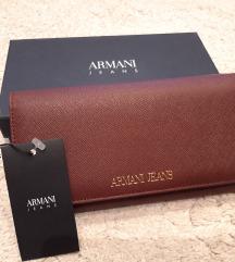 Armani jeans novčanik NOVO
