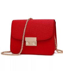 Crvena torbica like furla