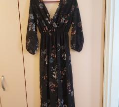 Duga cvjetna haljina