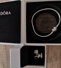 Pandora narukvica i privjesak ORIGINAL