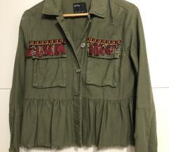 Bershka jaknica, parka, košulja